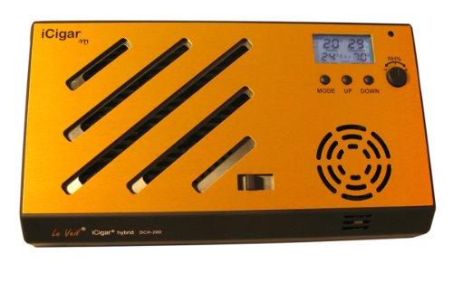Le Veil iCigar Hybird DCH-210D M-series Gold Digital Cigar Humidifier System