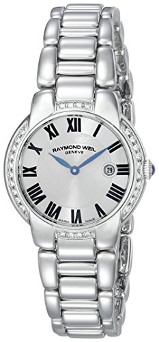 Raymond Weil Women's 5229-STS-01659 Jasmine Diamond-Accented Stainless Steel Watch