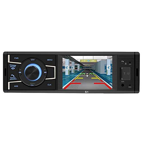 - Gavita-Star - SWM S1 3.2 inch Screen Bluetooth Car Stereo Head Unit 12V FM Radio USB AUX-in Navigation GPS Remote Control Car MP5