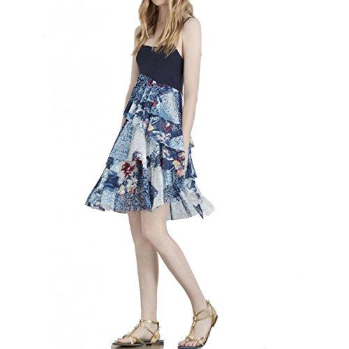 Kleid jo Blau jo Damen liu Kleid Blau liu Damen aa7rHOT
