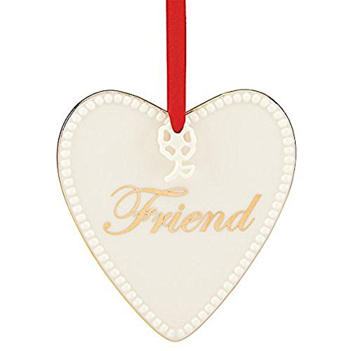 Lenox Expressions from the Heart Friend Ornament