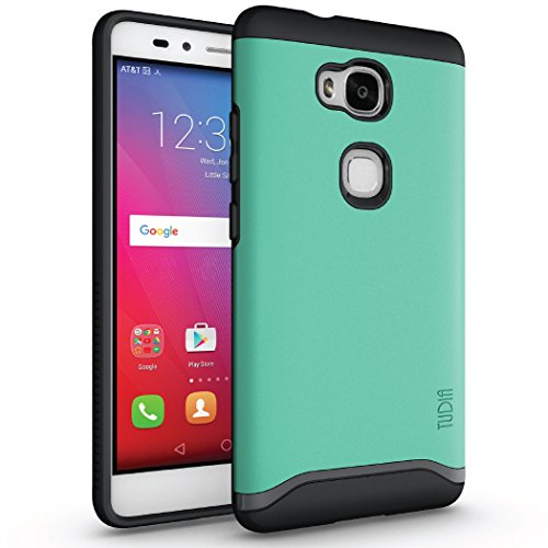 Huawei Honor 5X Case, TUDIA Slim-Fit Merge Dual Layer Protective Case for Huawei Honor 5X (Mint)