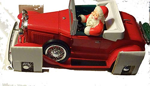 "Collectible Liberty Classics Amoco Ford Model ""A"" Locking Coin Bank - Santa's Roadster 1992"