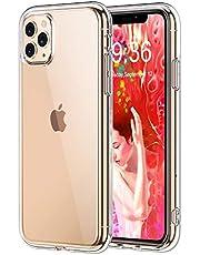 Bovon Coque pour iPhone 11 Pro, [Cristal Limpide] Ultra Mince Étui Protection Absorption de Choc, Coque Anti-Rayures en Silicone TPU Compatible avec iPhone 11 Pro 5.8 Pouces (2019)