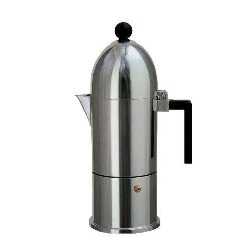 Alessi La Cupola Stovetop Espresso Pot - 6 Cup by Alessi by Alessi