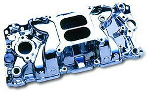 Professional Products 52020 Polished Typhoon Intake Manifold for Small Block Chevy Typhoon Manifold