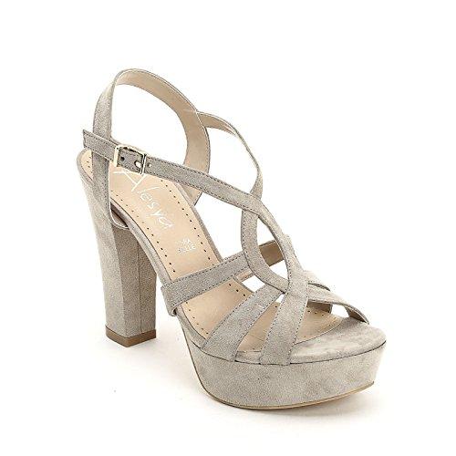 Alesya Beige Donna amp;scarpe Sandali By Alti Scarpe rqvx6rPfwC
