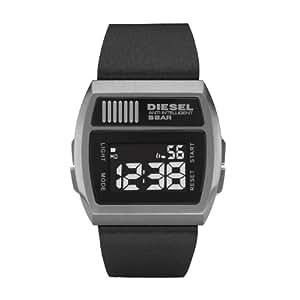 Diesel DZ7203 - Reloj digital de cuarzo para hombre con correa de acero inoxidable, color negro