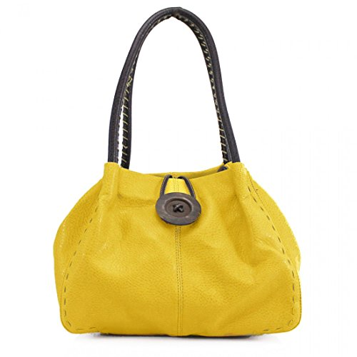 Craze london - Bolso al hombro para mujer amarillo