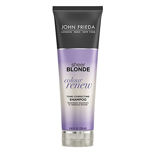 John Frieda Sheer Blonde Colour Renew Purple Shampoo, 8.45 Ounces (Pack of 2) (Blond Shampoo John Frieda)