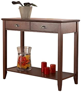Foremost CSH10222-FMCD Sheridan Console Table, Walnut