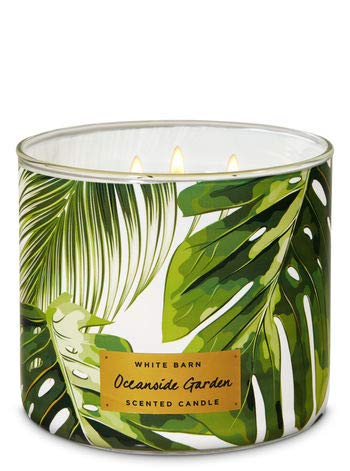 White Barn Oceanside Garden 3-Wick Candle (Garden Candle)