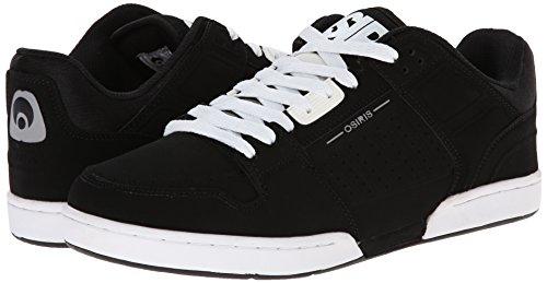 Osiris hombres Protocol XPD Skate zapatos, negro/blanco, 6 M US