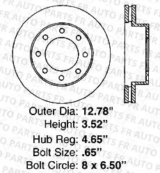 Front+Rear Kit 8 Semi-Metallic Pads 8lug High-End 4 Silver Coated Cross-Drilled Disc Brake Rotors Fits:- Chevrolet GMC