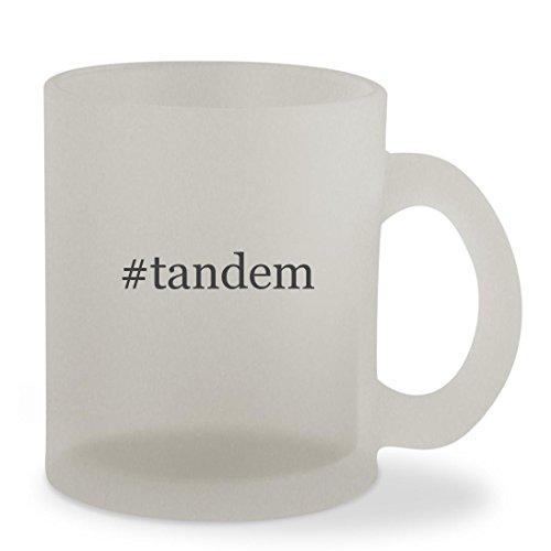 #tandem - 10oz Hashtag Sturdy Glass Frosted Coffee Cup Mug