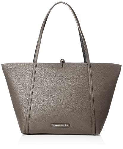EXCHANGE Tote Marrone Borse Taupe Donna Pu Tote Pebble ARMANI pqwnH1dp