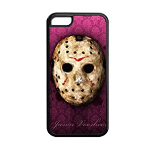 Generic Durable Soft Plastic Back Phone Covers For Girly Printing With Friday The 13Th For Apple Iphone 5C Choose Design 5