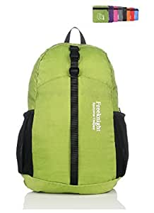 Packable Handy Lightweight Travel Backpack Daypack-Large-Green