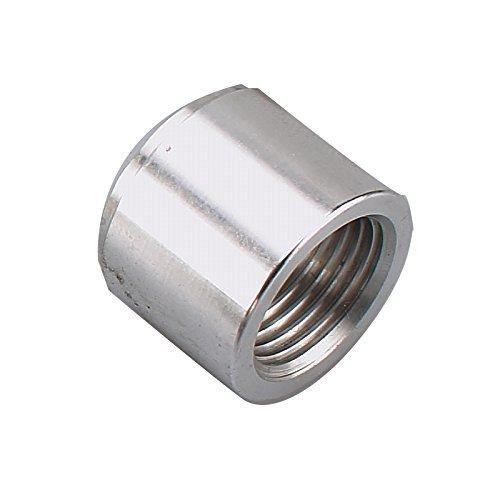 Aluminum Female 1/2 NPT Weld Bung, 1/2