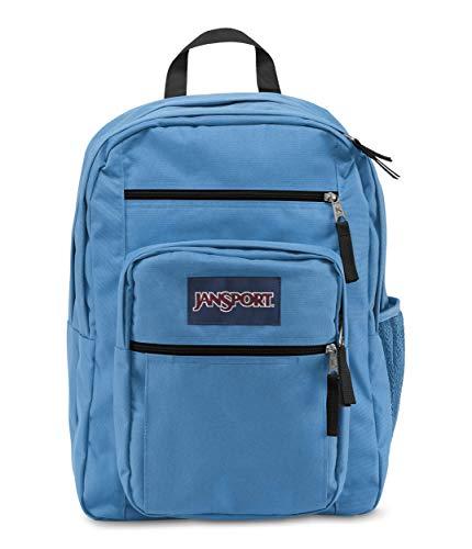 JanSport Big Student Backpack - 15-inch Laptop School Pack, Coastal Blue (Best Lightweight Student Laptop)