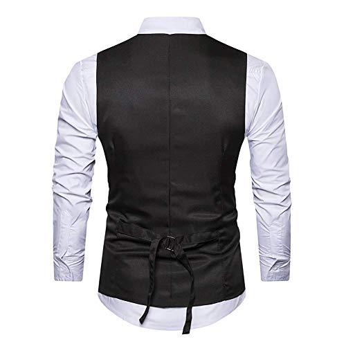 Gilet 3 Deux 2018 Plus pièces 2 couleur Slim Groom Mode Business L Social Vest Red Décontracté Taille coloré 2 M Size Faux Suit Taille Patch Fuweiencore 8UYx6q