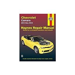 chevrolet camaro 10 15 haynes automotive haynes publishing rh amazon com 2010 chevy camaro repair manual 2010 camaro parts manual