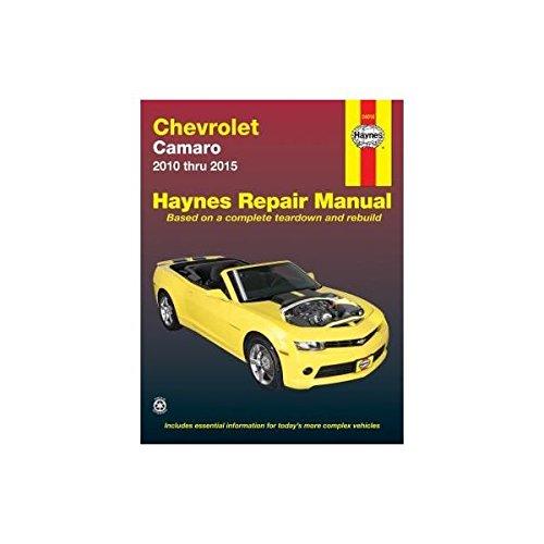 chevrolet camaro 10 15 haynes automotive haynes publishing rh amazon com 2010 camaro ss repair manual 2010 camaro parts manual
