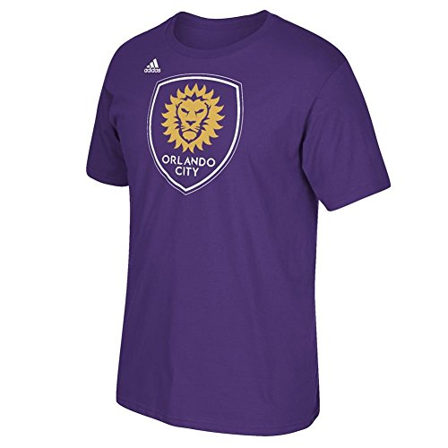 fan products of Orlando City Soccer Club Primary Logo Purple T-shirt XX-Large