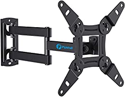 Full Motion TV Monitor Wall Mount Bracket Articulating Arms Swivels Tilts Extension Rotation for Most 13-42 Inch LED LCD...