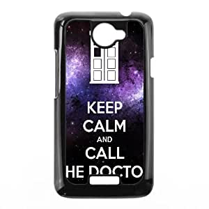 Keep Calm Call Doctor HTC One X Cell Phone Case Black Ergxw