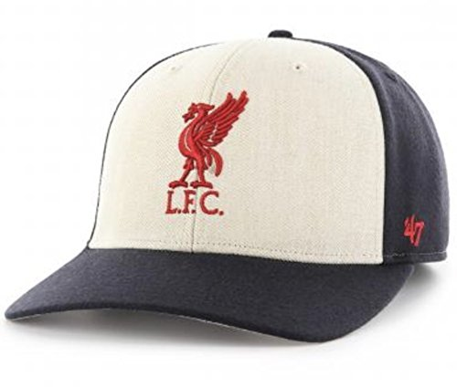 Vibrant Red Wool Hat (LIVERPOOL FC NAVY INDUCTOR CAP - WOOL BLEND - STRUCTURED FIT - RAISED EMBROIDERY - GREAT LOOKING HAT)