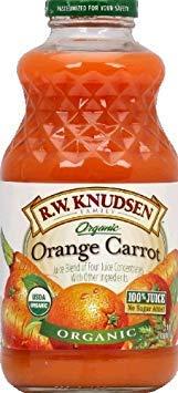 R.W. Knudsen Organic Juice - Orange Carrot - Case of 6 - 32 fl oz ()