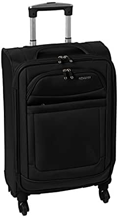 American tourister ilite max softside spinner 21 black luggage - American tourister office bags ...