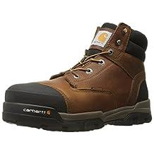 Carhartt Men's Ground Force 6-Inch Brown Waterproof Work Boot - Composite
