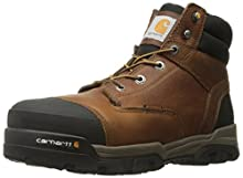 Carhartt Men's Ground Force 6-Inch Brown Waterproof Work Boot - Composite Toe, Peanut Oil Tan Leather, 8.5 M US - New For 2017 - CME6355