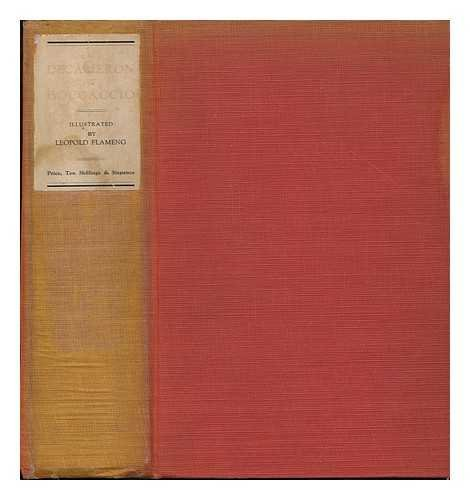 Stories of Boccaccio (The Decameron) , Tr. from the Italian Into English, with Eleven Original Etchings by Leopold Flameng