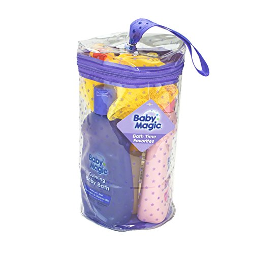 Baby Magic Bath time Favorites Gift Bag, 7 Count