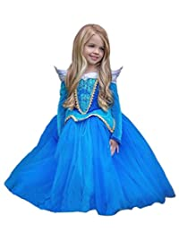 Eyekepper Sleeping Beauty Aurora Costume Birthday Party Dress Up