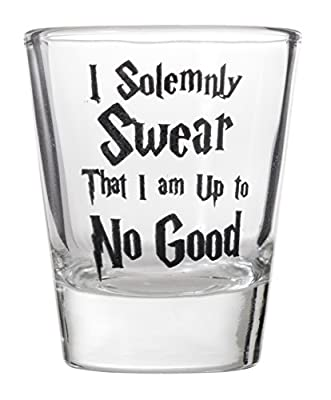 I Solemnly Swear That I Am Up To No Good Shot Glass for Wizards Shotglasses