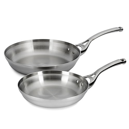 (Calphalon Contemporary Stainless 8 & 10 Inch Fry Pan Set)