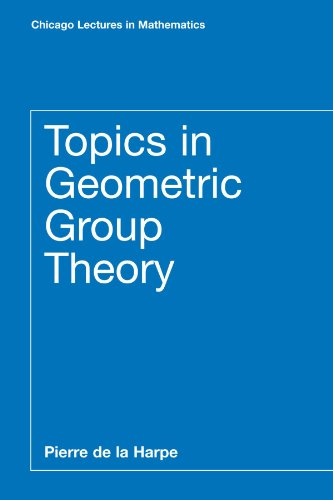 Topics in Geometric Group Theory (Chicago Lectures in Mathematics)