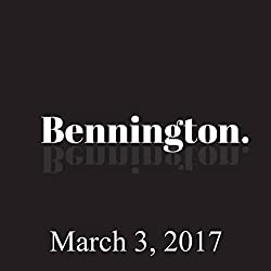 Bennington, Tom Scharpling, March 3, 2017