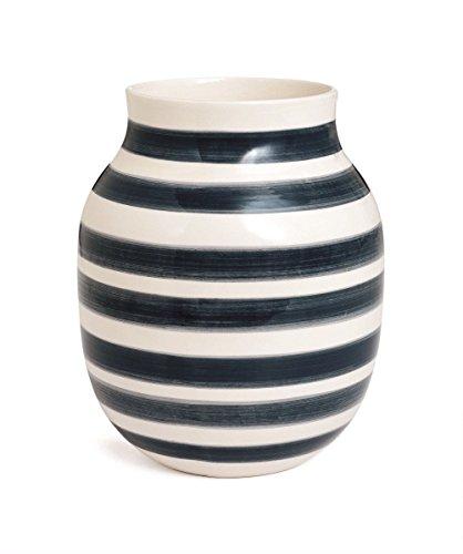 Granit gris-Blanc Kähler 691327 Omaggio Vase en porcelaine