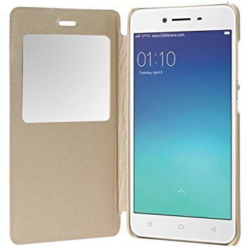 sports shoes cbdfd f8b7d Helix Leather Flip Cover for Vivo V7 Gold: Amazon.in: Electronics