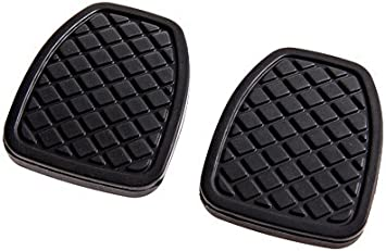 KIMISS A Pair of Brake Clutch Pedal Pads Durable Rubber Cover 36015GA111 for Subaru