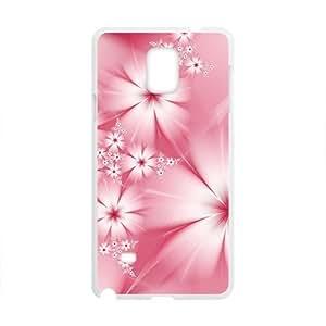 Artistic Flower White Phone Samsung Galaxy Note3