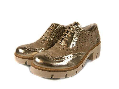 MILANI cordones para Zapatos dorado mujer de de SARA goma q6xPOFwf6
