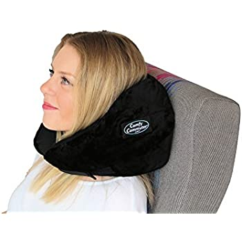 Amazon Com Comfy Commuter Travel Pillow With Compression