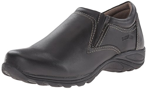 Eastland Women's Liliana Slip-On Loafer, Black, 9 M US