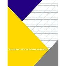 Calligraphy Practice Paper Workbook